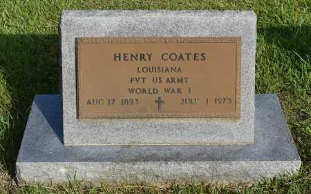 COATES, HENRY (VETERAN WWI) - Caldwell County, Louisiana | HENRY (VETERAN WWI) COATES - Louisiana Gravestone Photos