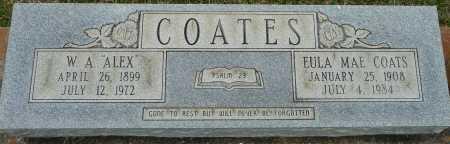 COATES, EULA MAE - Caldwell County, Louisiana | EULA MAE COATES - Louisiana Gravestone Photos