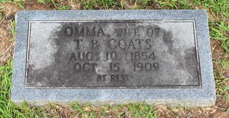 COATS, OMMA - Caldwell County, Louisiana | OMMA COATS - Louisiana Gravestone Photos