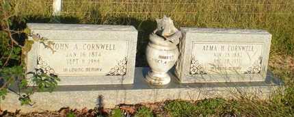 CORNWELL, JOHN A - Caldwell County, Louisiana | JOHN A CORNWELL - Louisiana Gravestone Photos