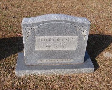 COSBY, BUFORD OAKLAND - Caldwell County, Louisiana   BUFORD OAKLAND COSBY - Louisiana Gravestone Photos