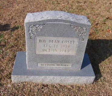 COSBY, ROY DEAN - Caldwell County, Louisiana   ROY DEAN COSBY - Louisiana Gravestone Photos