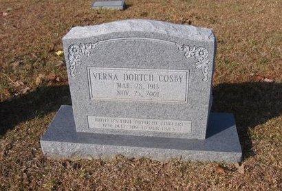 COSBY, VERNA ODESSA - Caldwell County, Louisiana | VERNA ODESSA COSBY - Louisiana Gravestone Photos