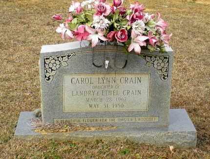 CRAIN, CAROL LYNN - Caldwell County, Louisiana | CAROL LYNN CRAIN - Louisiana Gravestone Photos