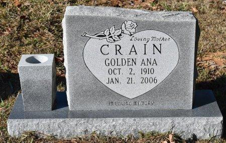 CRAIN, GOLDEN ANA - Caldwell County, Louisiana | GOLDEN ANA CRAIN - Louisiana Gravestone Photos