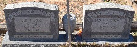 CRAIN, JIM THOMAS - Caldwell County, Louisiana | JIM THOMAS CRAIN - Louisiana Gravestone Photos