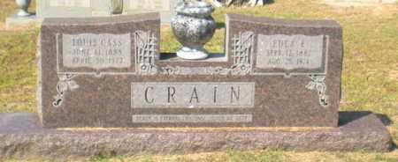 CRAIN, LOUIS CASS,REV - Caldwell County, Louisiana | LOUIS CASS,REV CRAIN - Louisiana Gravestone Photos