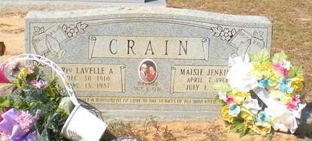 CRAIN, MAISIE - Caldwell County, Louisiana | MAISIE CRAIN - Louisiana Gravestone Photos
