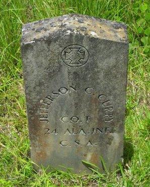CURRY, JEFFERSON G (VETERAN CSA) - Caldwell County, Louisiana | JEFFERSON G (VETERAN CSA) CURRY - Louisiana Gravestone Photos