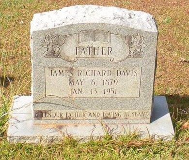 DAVIS, JAMES RICHARD - Caldwell County, Louisiana | JAMES RICHARD DAVIS - Louisiana Gravestone Photos
