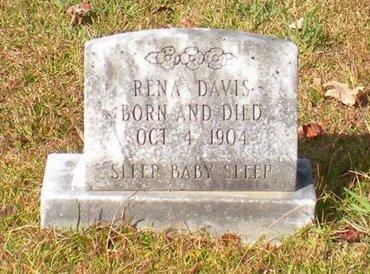 DAVIS, RENA - Caldwell County, Louisiana   RENA DAVIS - Louisiana Gravestone Photos