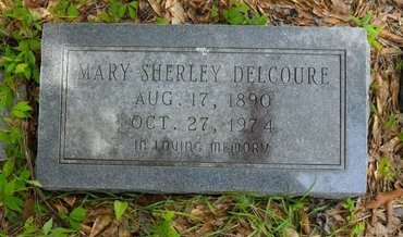 DELCOURE, MARY SHERLEY - Caldwell County, Louisiana   MARY SHERLEY DELCOURE - Louisiana Gravestone Photos