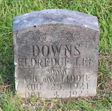 DOWNS, ELDREDGE LEE - Caldwell County, Louisiana   ELDREDGE LEE DOWNS - Louisiana Gravestone Photos