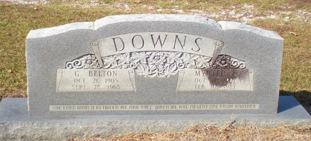 DOWNS, MYRTLE - Caldwell County, Louisiana | MYRTLE DOWNS - Louisiana Gravestone Photos