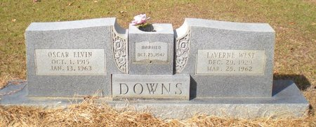 WEST DOWNS, LAVERNE - Caldwell County, Louisiana | LAVERNE WEST DOWNS - Louisiana Gravestone Photos