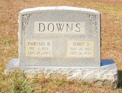 HENDRIX DOWNS, PAIRSAID - Caldwell County, Louisiana | PAIRSAID HENDRIX DOWNS - Louisiana Gravestone Photos