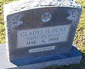 DUKE, GLADYS JANE - Caldwell County, Louisiana | GLADYS JANE DUKE - Louisiana Gravestone Photos