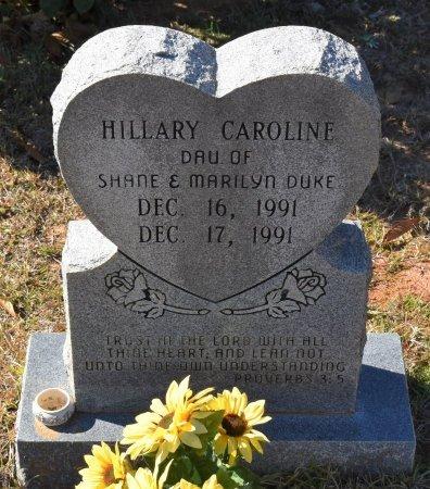 DUKE, HILLARY CAROLINE - Caldwell County, Louisiana | HILLARY CAROLINE DUKE - Louisiana Gravestone Photos