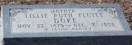 DUKE, LILLIE RUTH - Caldwell County, Louisiana | LILLIE RUTH DUKE - Louisiana Gravestone Photos