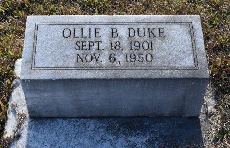DUKE, OLLIE B - Caldwell County, Louisiana   OLLIE B DUKE - Louisiana Gravestone Photos