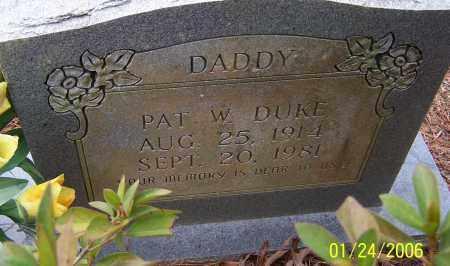 DUKE, PAT WILSON - Caldwell County, Louisiana | PAT WILSON DUKE - Louisiana Gravestone Photos
