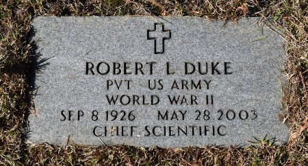 DUKE, ROBERT LEE (VETERAN WWII) - Caldwell County, Louisiana | ROBERT LEE (VETERAN WWII) DUKE - Louisiana Gravestone Photos