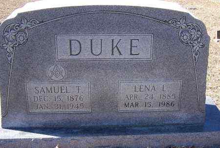 DUKE, LENA L - Caldwell County, Louisiana | LENA L DUKE - Louisiana Gravestone Photos