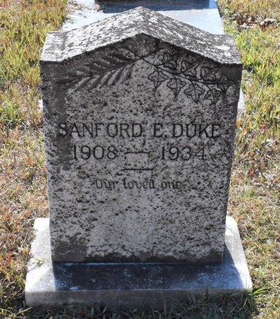 DUKE, SANFORD E - Caldwell County, Louisiana   SANFORD E DUKE - Louisiana Gravestone Photos