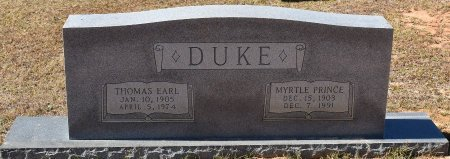 DUKE, MYRTLE PRINCE - Caldwell County, Louisiana | MYRTLE PRINCE DUKE - Louisiana Gravestone Photos
