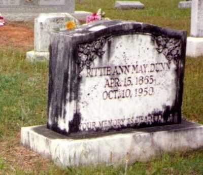 MAY DUNN, RITTIE ANN - Caldwell County, Louisiana | RITTIE ANN MAY DUNN - Louisiana Gravestone Photos
