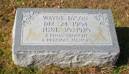 DYSON, WAYNE - Caldwell County, Louisiana | WAYNE DYSON - Louisiana Gravestone Photos