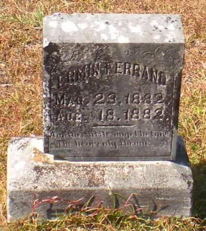 FERRAND, ERMIN - Caldwell County, Louisiana   ERMIN FERRAND - Louisiana Gravestone Photos