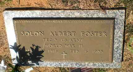 FOSTER, SOLON ALBERT (VETERAN WWII) - Caldwell County, Louisiana | SOLON ALBERT (VETERAN WWII) FOSTER - Louisiana Gravestone Photos