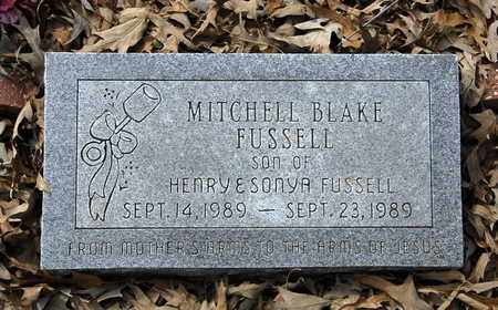 FUSSELL, MITCHELL BLAKE - Caldwell County, Louisiana | MITCHELL BLAKE FUSSELL - Louisiana Gravestone Photos