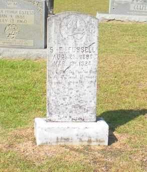 FUSSELL, S E - Caldwell County, Louisiana | S E FUSSELL - Louisiana Gravestone Photos