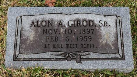 GIROD, ALON A, SR - Caldwell County, Louisiana | ALON A, SR GIROD - Louisiana Gravestone Photos