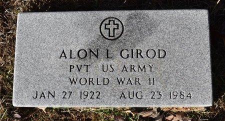 GIROD, ALON L (VETERAN WWII) - Caldwell County, Louisiana | ALON L (VETERAN WWII) GIROD - Louisiana Gravestone Photos