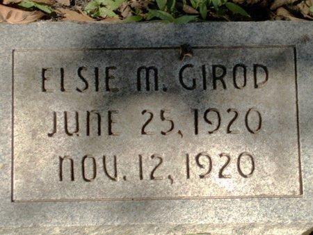 GIROD, ELSIE M - Caldwell County, Louisiana | ELSIE M GIROD - Louisiana Gravestone Photos