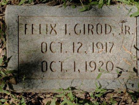 GIROD, FELIX I, JR - Caldwell County, Louisiana | FELIX I, JR GIROD - Louisiana Gravestone Photos