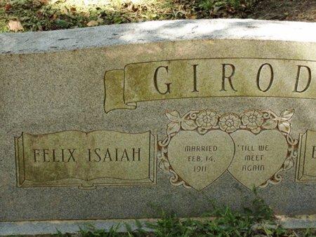 GIROD, FELIX ISAIAH - Caldwell County, Louisiana | FELIX ISAIAH GIROD - Louisiana Gravestone Photos