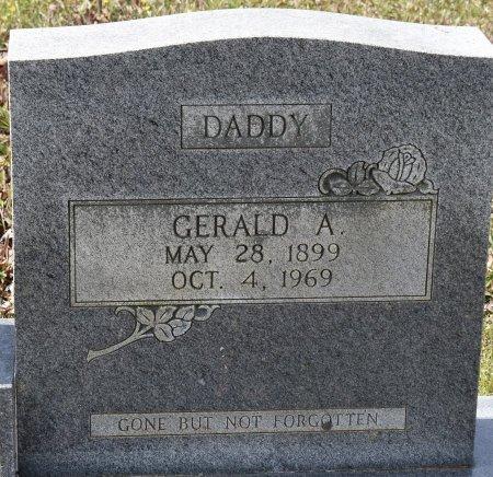 GIROD, GERALD A (CLOSE UP) - Caldwell County, Louisiana | GERALD A (CLOSE UP) GIROD - Louisiana Gravestone Photos