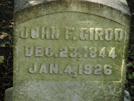 GIROD, JOHN F - Caldwell County, Louisiana | JOHN F GIROD - Louisiana Gravestone Photos