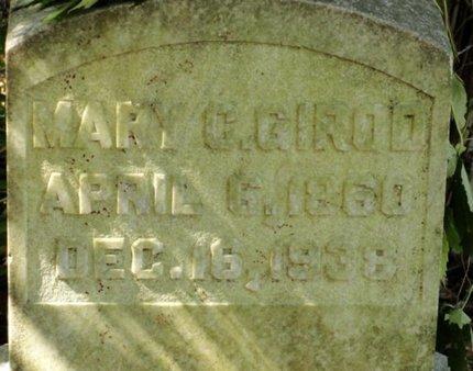 RAWLS GIROD, MARY C - Caldwell County, Louisiana | MARY C RAWLS GIROD - Louisiana Gravestone Photos