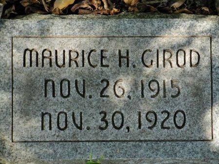 GIROD, MAURICE H - Caldwell County, Louisiana | MAURICE H GIROD - Louisiana Gravestone Photos
