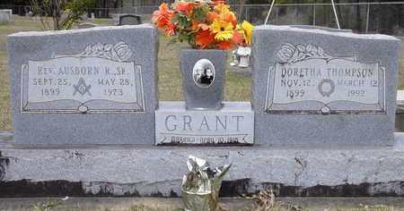 GRANT, AUSBORN R,SR.,REV - Caldwell County, Louisiana | AUSBORN R,SR.,REV GRANT - Louisiana Gravestone Photos