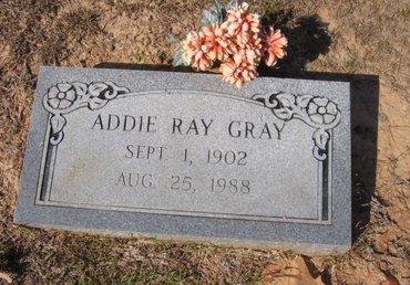 GRAY, ADDIE - Caldwell County, Louisiana | ADDIE GRAY - Louisiana Gravestone Photos