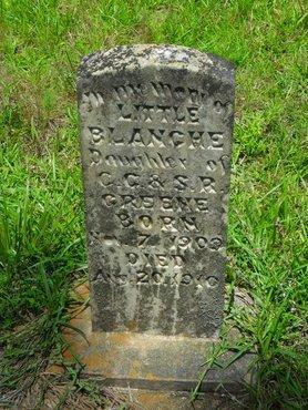 GREENE, BLANCHE - Caldwell County, Louisiana | BLANCHE GREENE - Louisiana Gravestone Photos