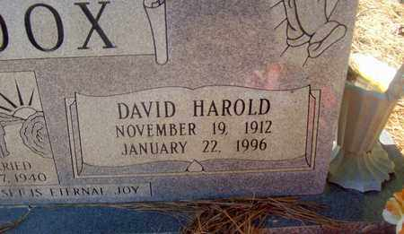 HADDOX, DAVID HAROLD - Caldwell County, Louisiana | DAVID HAROLD HADDOX - Louisiana Gravestone Photos