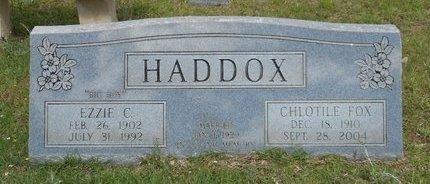 HADDOX, CHLOTILE - Caldwell County, Louisiana | CHLOTILE HADDOX - Louisiana Gravestone Photos