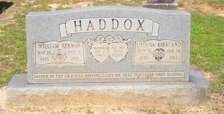 HADDOX, WILLIAM SEBRON - Caldwell County, Louisiana | WILLIAM SEBRON HADDOX - Louisiana Gravestone Photos